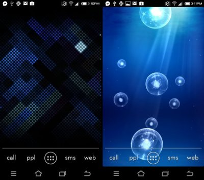 Download Galaxy S3 Live Wallpapers: Deep Sea and Luminous Dots