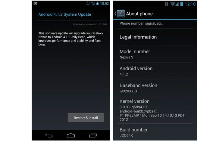 Android 4.1.2 OTA