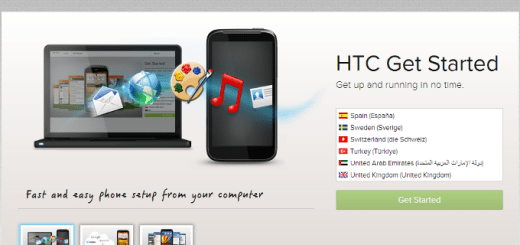 HTC Get Started
