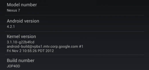 Nexus 7 Android 4.2.1 Rooted