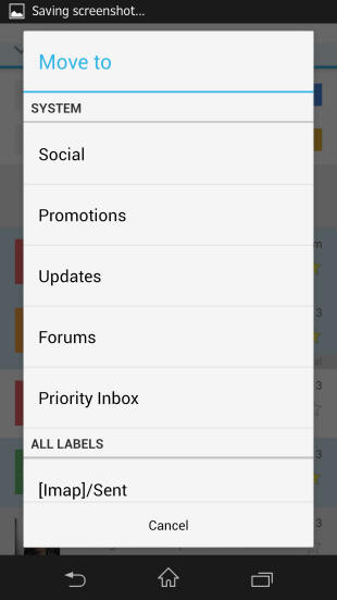 Gmail v4.5 Features16