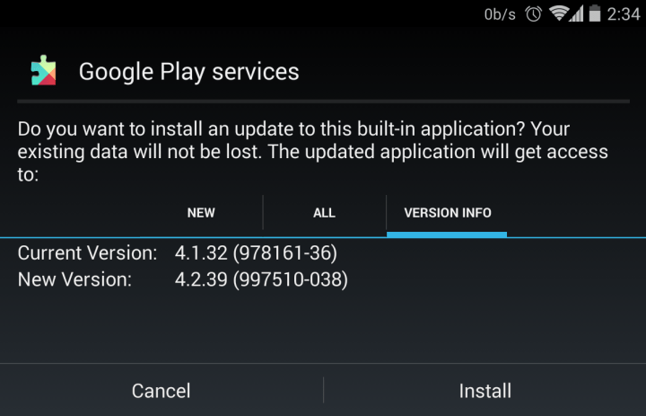 Google Play Services APK 4.2.39