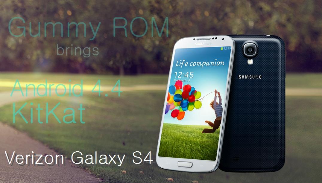 Verizon Galaxy S4 Android 4.4 Update