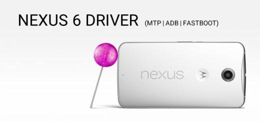 Nexus 6 Driver