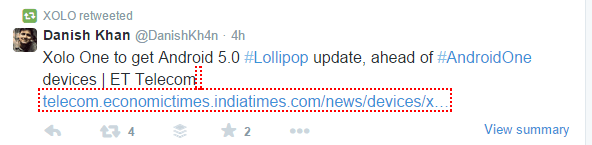 Xolo One Lollipop Update