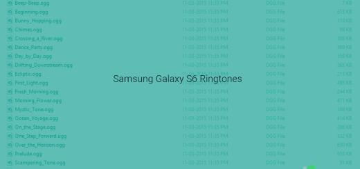 Galaxy S6 Ringtones