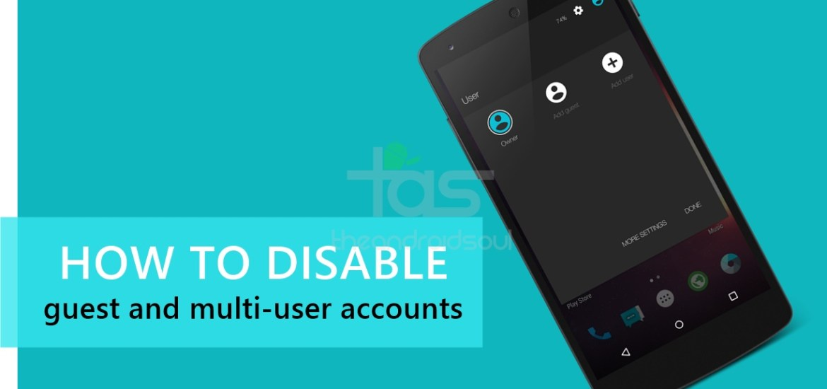 Disable Guest User Mode