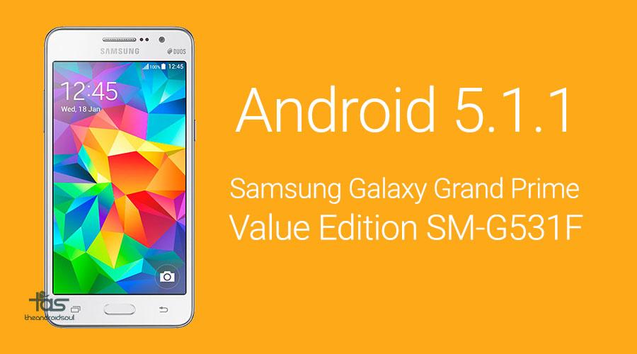 Galaxy Grand Prime Value Edition 5.1
