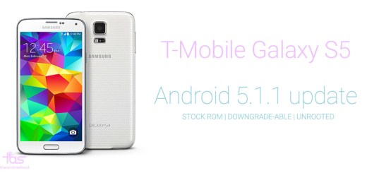 T-Mobile Galaxy S5 Android 5.1 Stock ROM
