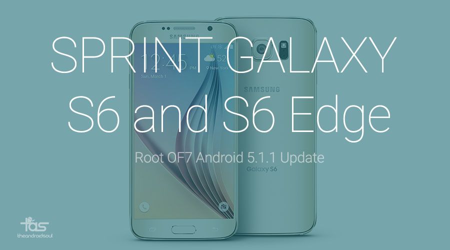 5.1.1 root Sprint Galaxy S6 and S6 Edge Root