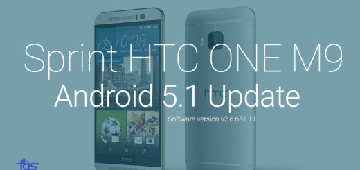 HTC One M9 Android 5.1 Update