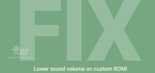 Low Sound Volume Fix