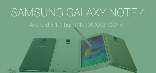 Samsung Galaxy Note 4 5.1.1 Update