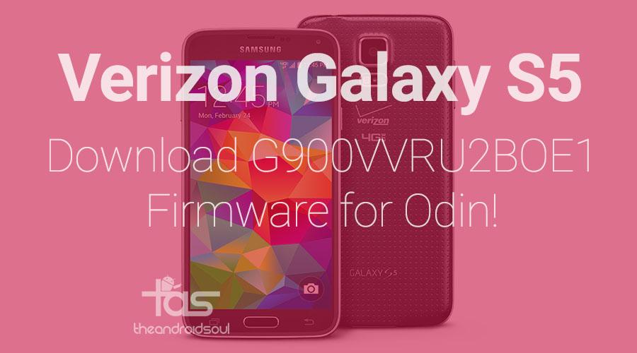Verizon Galaxy S5 OE1 firmware Odin TAR