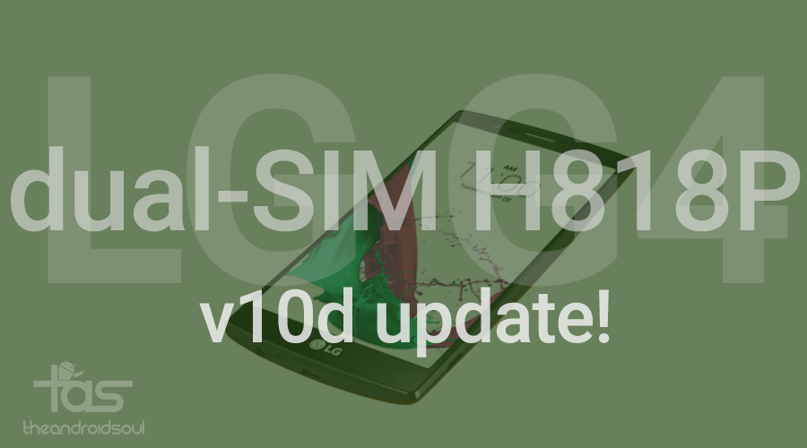 lg g4 h818p v10d update