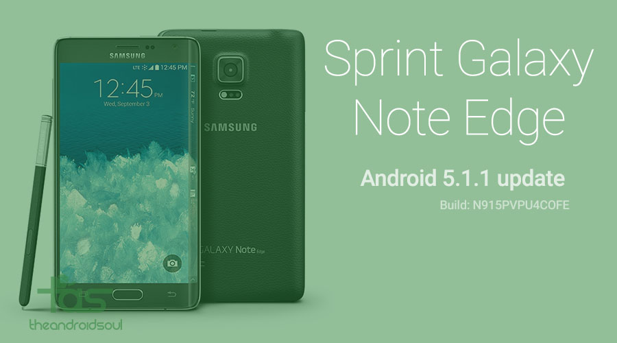 sprint note edge 5.1.1