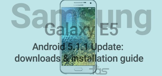 Galaxy E5 Android 5.1.1 Update