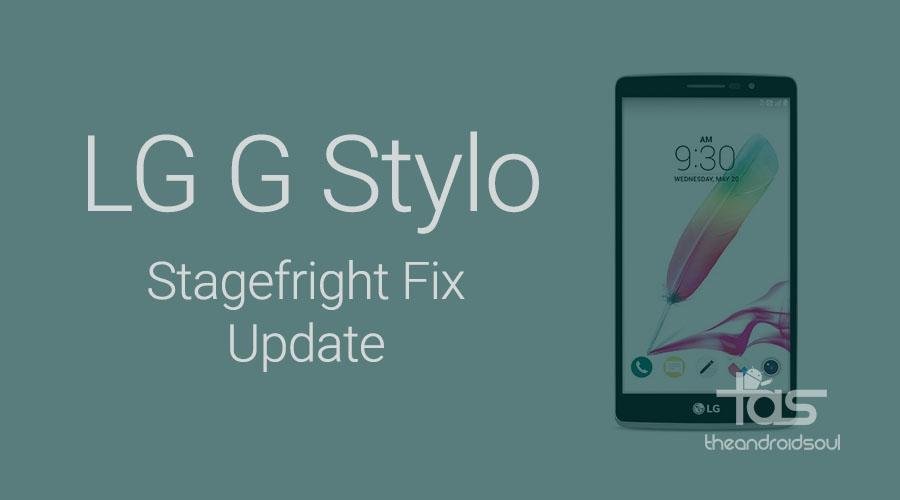 LG G Stylo Update