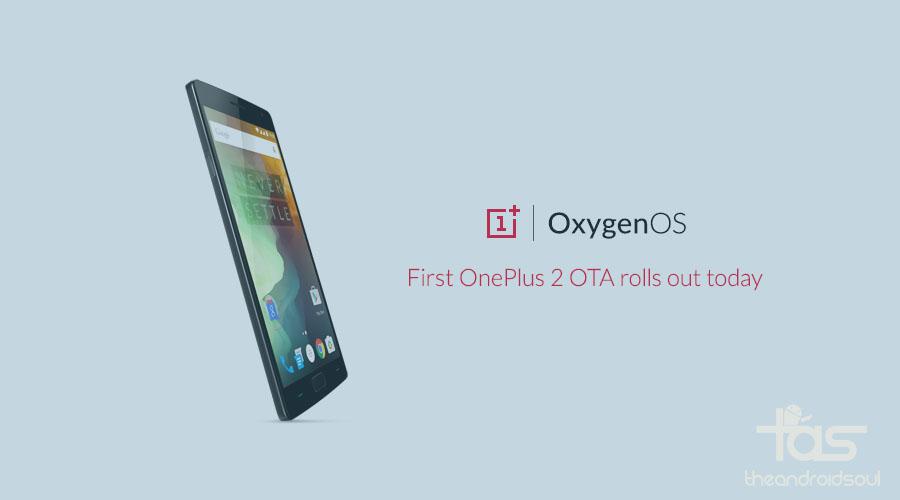 OnePlus 2 ota update