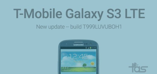 T-Mobile Galaxy S3 LTE Update