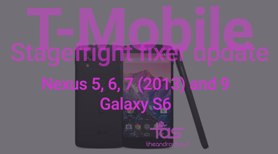 T-Mobile Stagefright Update
