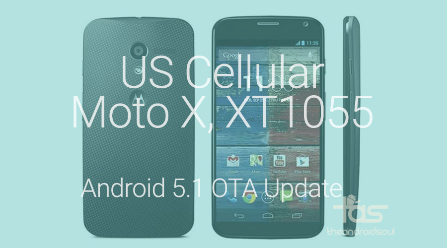 US Cellular Moto X xt1055 update