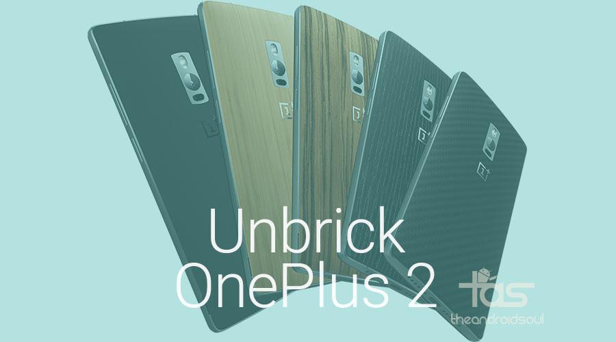 Unbrick OnePlus 2