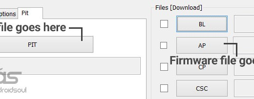 how to use PIT File