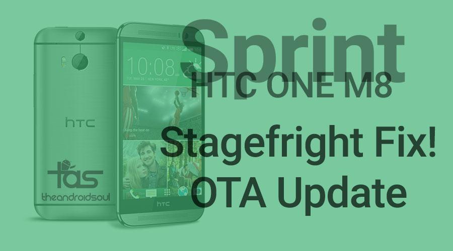 sprint htc one m8 update
