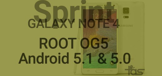 sprint note 4 root 5.1.1 update