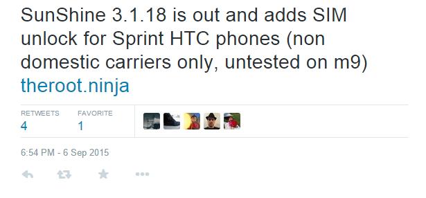 sim unlock sprint htc devices