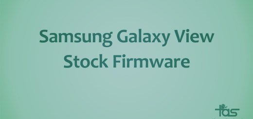 Galaxy View Stock Firmware