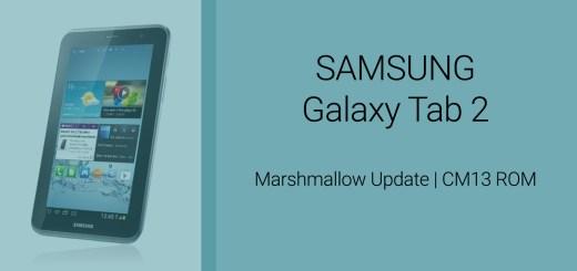 Galaxy Tab 2 CM13