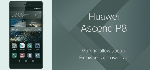 Huawei P8 Marshmallow firmware