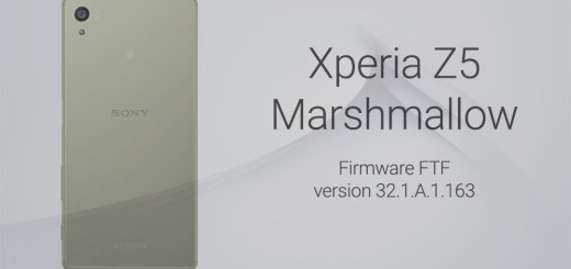 xperia z5 Marshmallow ftf