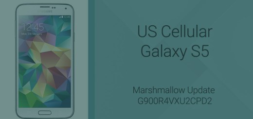 US Cellular Galaxy S5 Marshmallow update