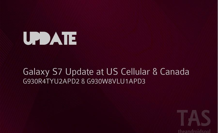 galaxy s7 update PD2 PD3
