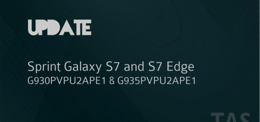 sprint galaxy s7 and s7 edge update