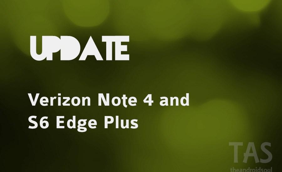 verizon note 4 security update