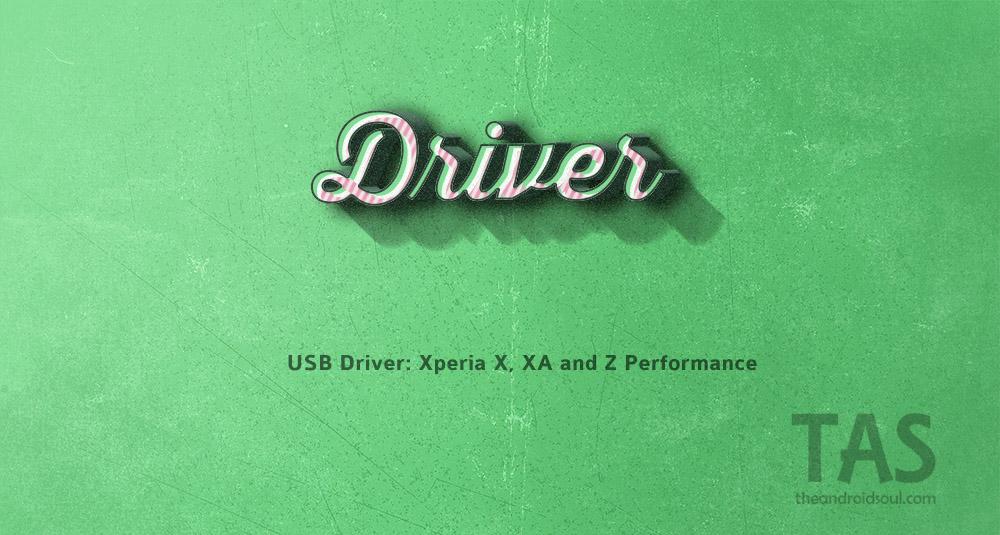 xperia x xa performance driver