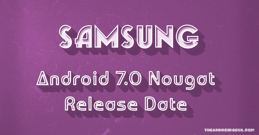 samsung-nougat-release