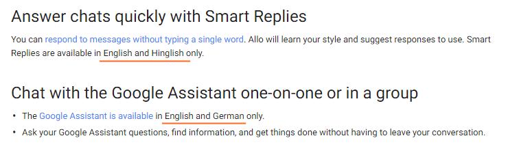 google-allo-hinglish