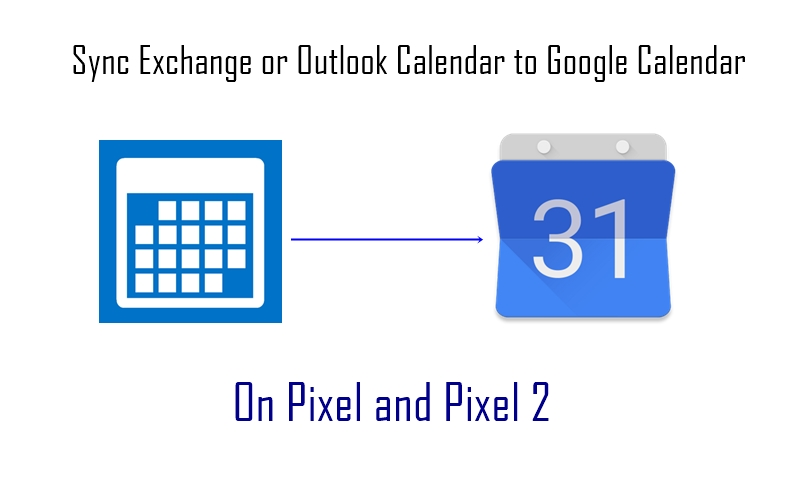 How to sync Exchange or Outlook Calendar to Google Calendar on Pixel