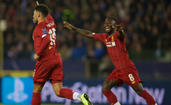 Krc Genk 1 Liverpool 4 The Match Ratings The Anfield Wrap
