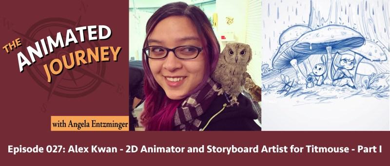 2D Animator and Storyboard Artist Alex Kwan