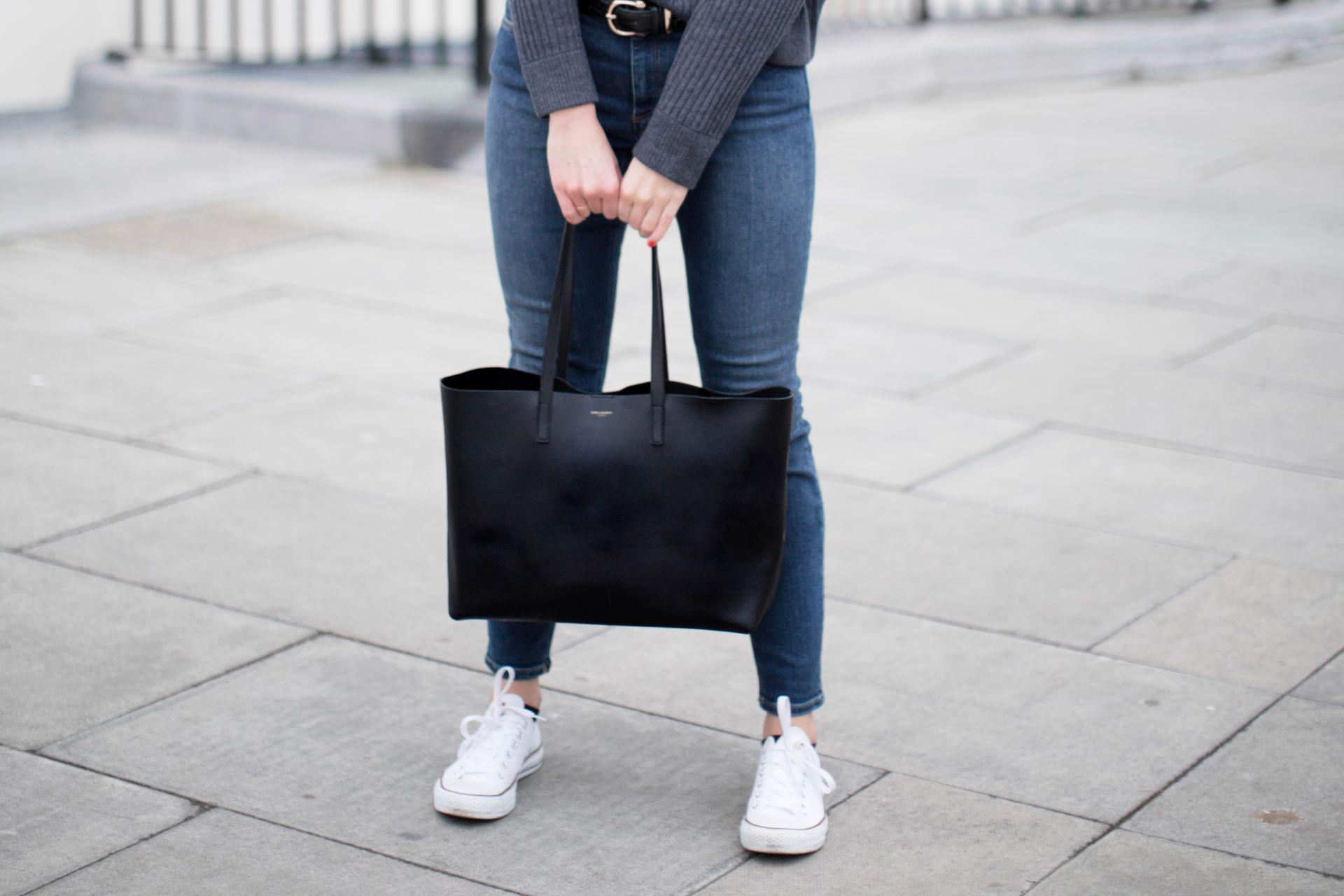 Saint Laurent Tote Bag Review The Anna Edit