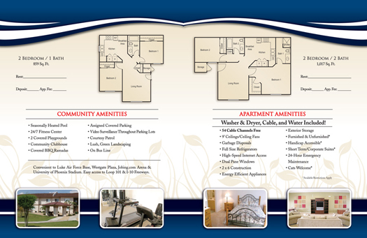 Apartment Brochure Samples