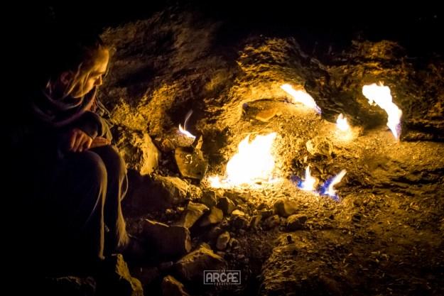 The warming flames of Yanartas