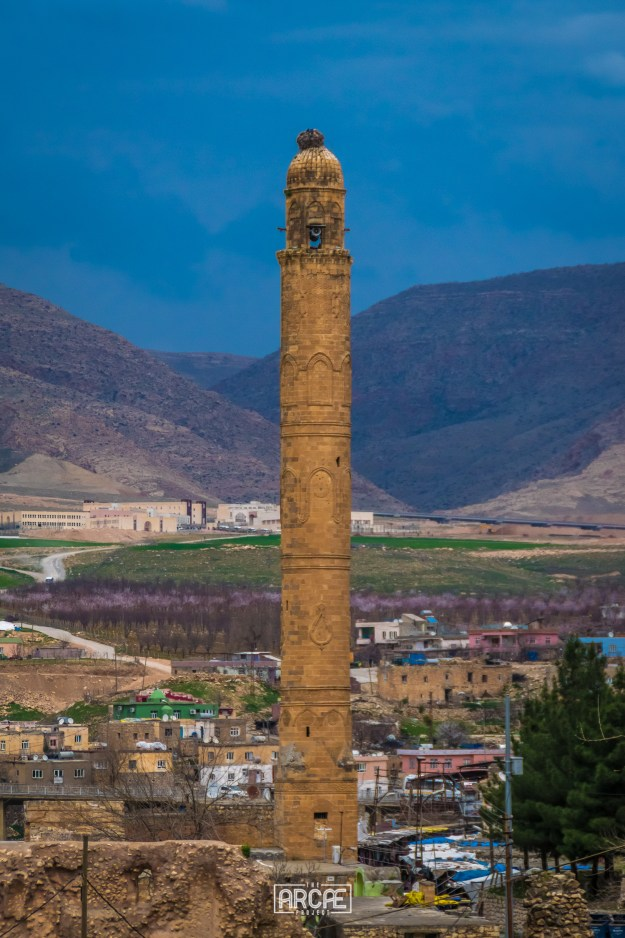 One of Hasankeyf's minaret