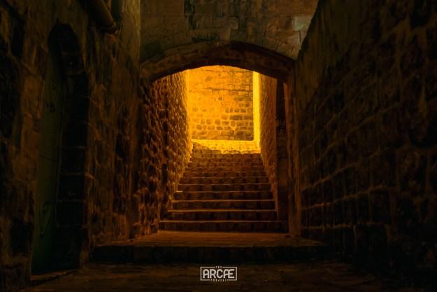 Dark alleys in Mardin
